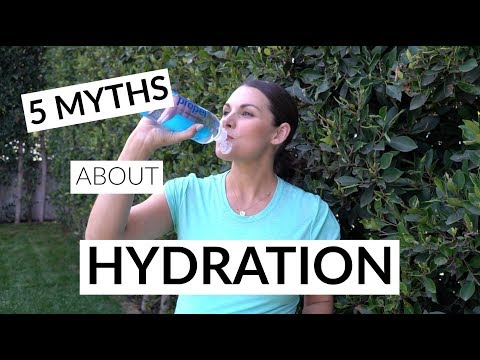 5 Myths About Hydration For Exercise