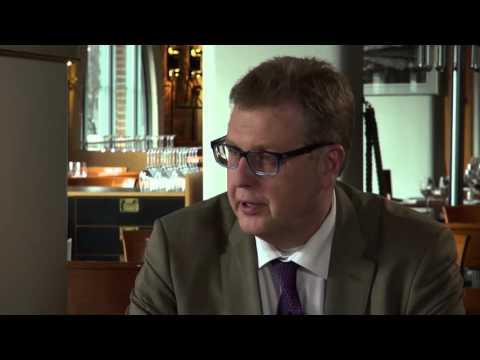 Harri Lindellin haastattelussa Ylipormestari Jussi Pajunen.