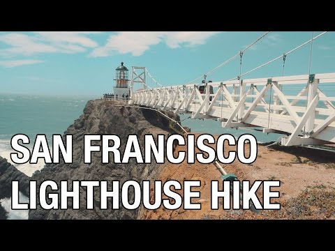 Point Bonita Lighthouse - San Francisco Hike