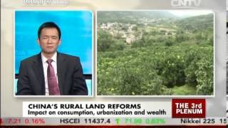 Studio interview: China's rural land reforms to boost farmers' incomes