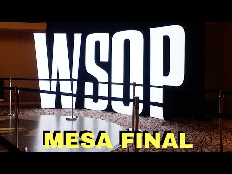 November Nine WSOP 2016 de US$30 a US$1.000.000 - Las Vegas