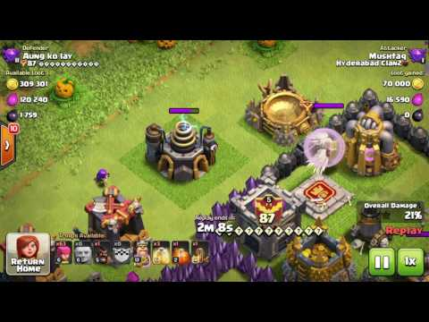 Clash Of Clans : Defensive Clan Castle Healers Healing Buildings.