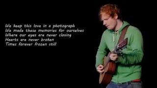 Ed Sheeran - Photograph Lyric Mp3