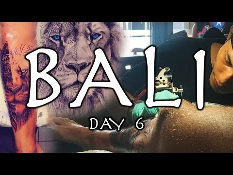 GETTING A TATTOO IN BALI | BALI VLOG 06
