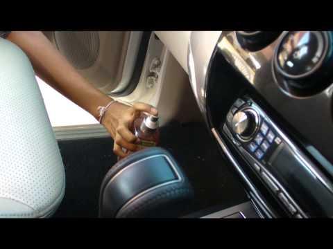 การกำจัดกลิ่นในรถยนต์  โดยใช้เอนไ