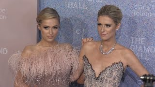 Paris and Nicky Hilton at the 2018 Diamond Ball in New York