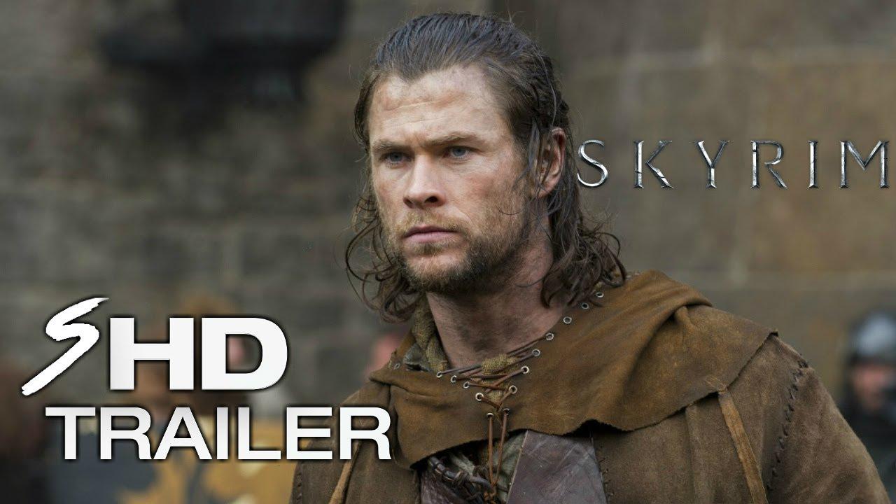 Skyrim (2018) – Movie Trailer #1 Chris Hemsworth, Sam Worthington (Fan Made)