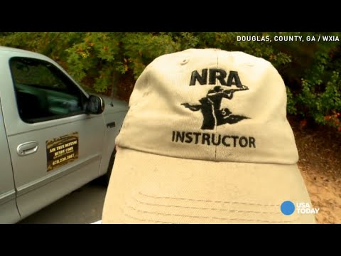 Man asked to remove NRA hat before voting