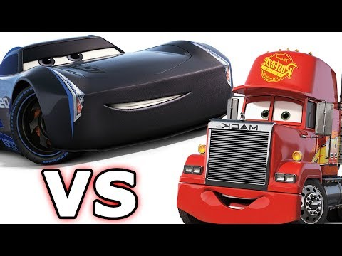 CARS 3 - The Videogame - Mack The Truck vs. Jackson Storm!