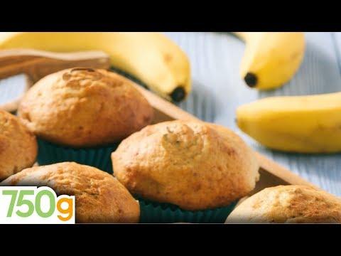 recette-de-muffins-à-la-banane---750g
