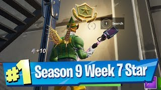 Fortnite Season 9 Week 7 Loading Screen Battle Pass Star Location
