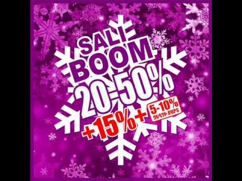SALI կոշիկի խանութների ցանցը շնորհավորում է Ձեր Ամանորն ու Սուրբ Ծնունդը և հայտարարում SALI BOOM ակցիա.արդեն...