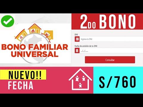 Bono Universal - Segundo Padrón o Grupo de Bono Familiar - Soy Beneficiado?