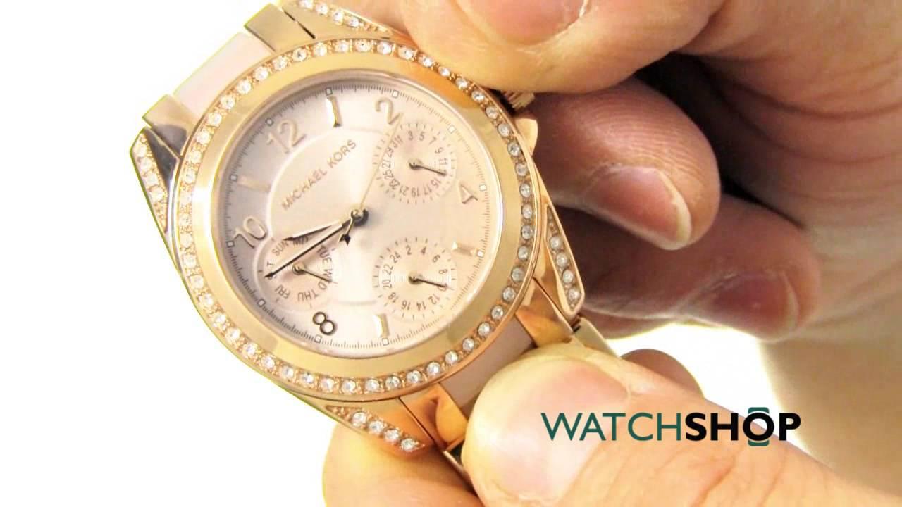 0611abd5bf74 Michael Kors Ladies  Mini Blair Watch (MK6175) - YouTube