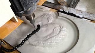 Авторская резьба по камню,  мраморные иконостасы(Все работы представлены на нашем сайте www.ikonorez.ru. Заходите, это интересно! На видео Вы видите как в нашей..., 2014-02-24T08:11:40.000Z)
