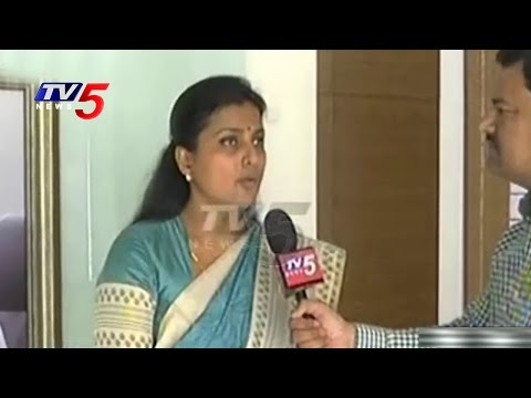 YCP Roja Face To Face Over  Roja Suspension Revoke Issue | TV5 News
