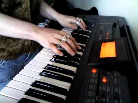 Lynne Campbell Performing Piano COVER of Just One Night by Triumph - April 28 2011
