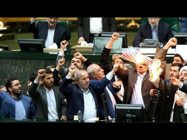 Iran deal: Trump breaks with European allies over 'horrible
