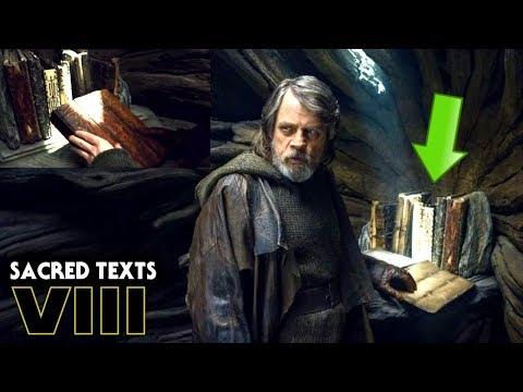 Ancient Jedi Text Names Revealed! Star Wars The Last Jedi