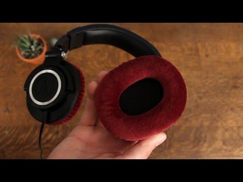 Audio Technica ATH-M50 Earpad Replacement Velour