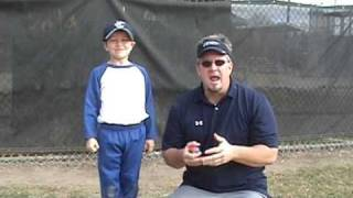 Coaching Youth Baseball Catching Drills & Skills Pt 1