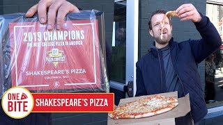 Barstool Pizza Review - Shakespeare's Pizza (Columbia, MO)