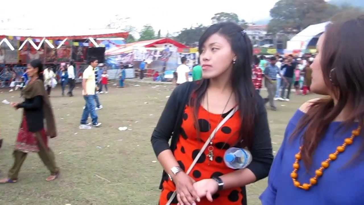 ♥ Dhurmusey In Pokhara New Year Mela 2069