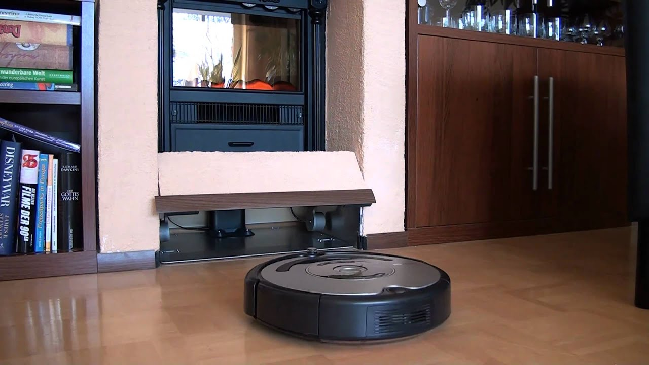 Roomba Garage Youtube