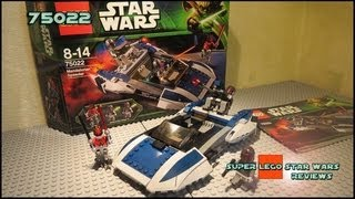 Lego Star Wars 75022 Mandalorian Speeder Review