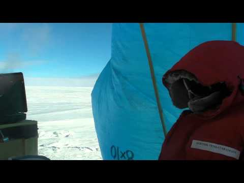 DinnerTime Ned&Karthik @PG3, East Plateau, Antarctica