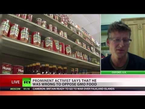 Anti-GMO activist has change of heart