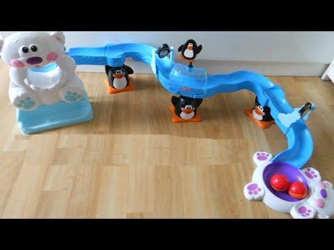 Fisher-Price Go Baby Go Sit-to-Crawl Polar Coaster
