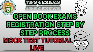 DU OBE One Time Registration and Mock Test Tutorial for DU Regular SOL and NCWEB students