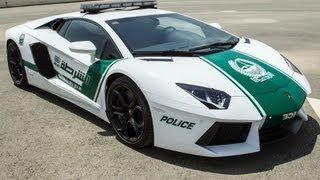 Dubai police get a Lamborghini
