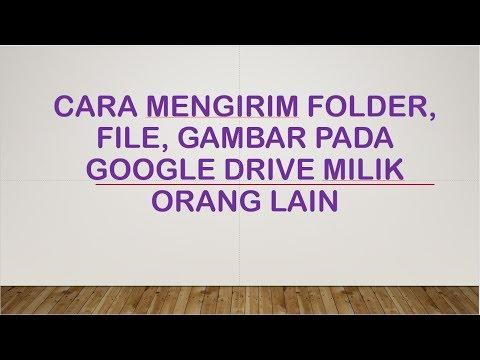 Gaes ! Nih Gua Kasih Tau Ke Kalian Gimana Caranya Kirim File / Video Yg Ukurannya Besar Via Google D.