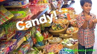 Robert-Andre and William-Haik are Going to the CANDY STORE!
