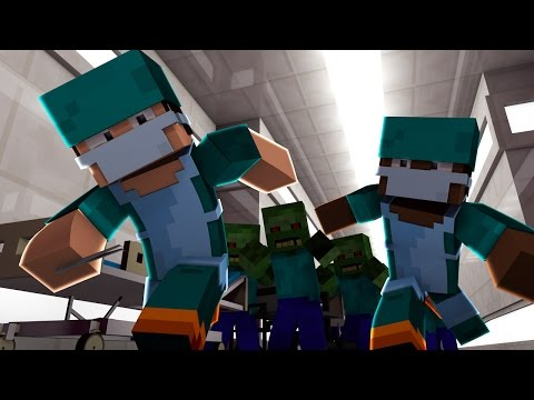 Minecraft | Good vs Evil - ZOMBIE HORDE ATTACKS! (Doctors vs Zombies)