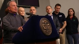 Mayor Bloomberg Updates New Yorkers on Preparations for Hurricane Sandy