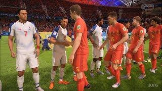 2018 FIFA World Cup Russia - Belgium vs Panama - Gameplay (HD) [1080p60FPS]