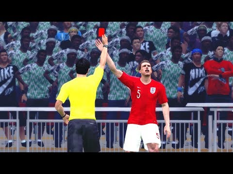 England Vs Nigeria 2 June 2018 Gameplay
