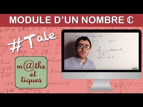 Calculer le module d'un nombre complexe - Terminale