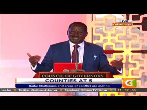 Raila Odinga's address to the Devolution Conference #CountiesAt5