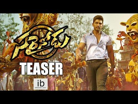 Allu Arjun's Sarrainodu teaser   Sarainodu trailer - idlebrain.com