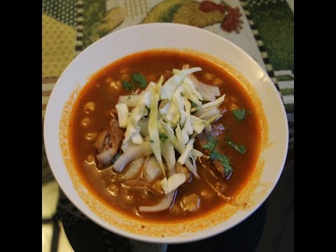 Mexican Pozole Rojo Recipe
