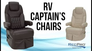 RV Captain's Chairs
