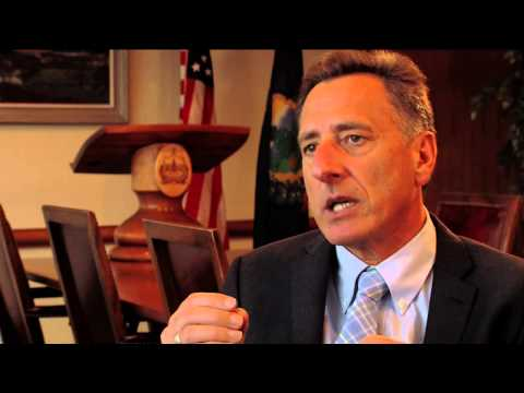 Vermont Governor Shumlin - All Recovery is Local