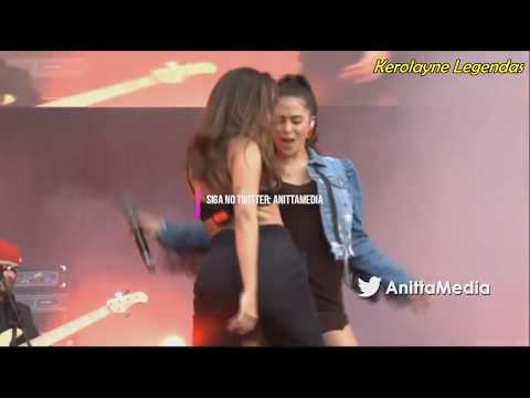 Anitta e Greeicy - Jacuzzi Megaland 2018  Colombia