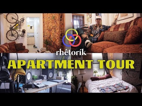 MY DREAM NEW YORK CITY ARTIST APARTMENT/STUDIO TOUR!!