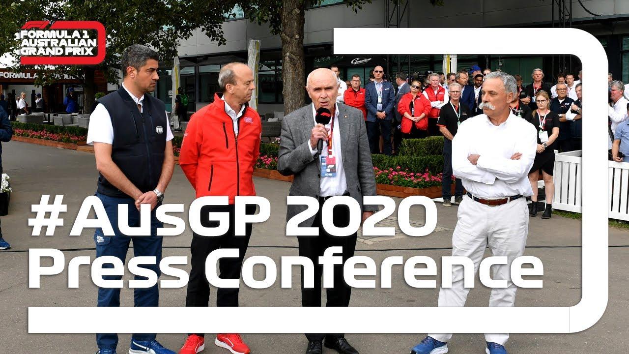 AusGP Press Conference