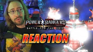 MAX REACTS: Lord Zedd Reveal & Season One Update - Power Rangers Battle For the Grid